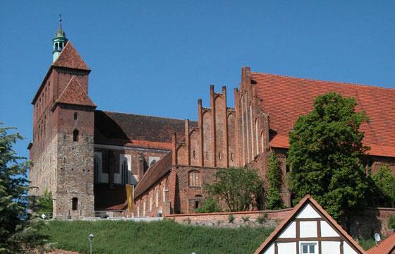 Der romanisch-gotische Dom in Havelberg