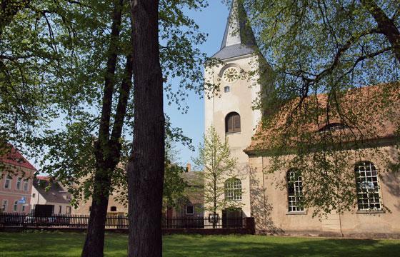 Barockes Kleinod: die Kirche in Pritzerbe